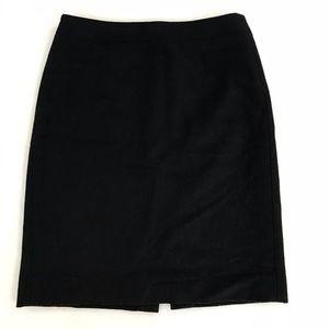 J. Crew Factory Black Pencil Skirt